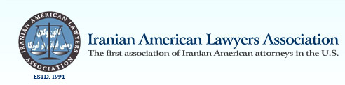 Image result for iranian american lawyers association logo